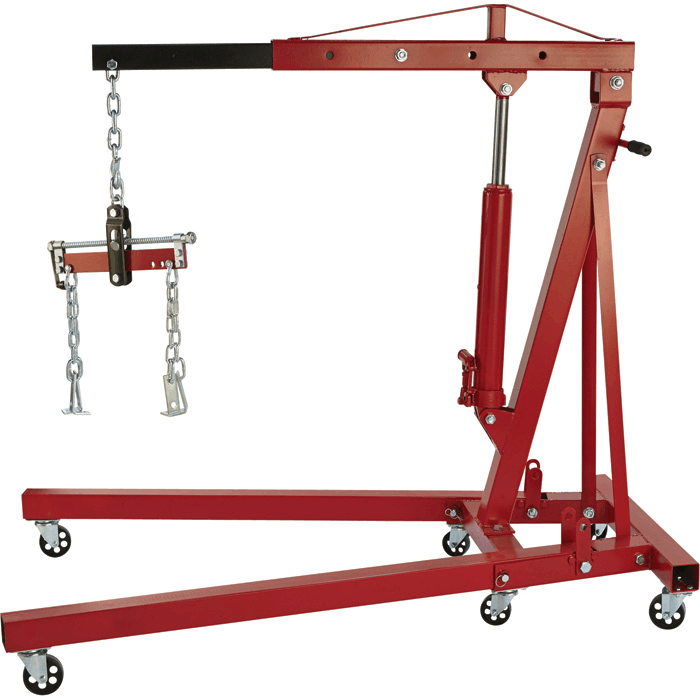 hydraulic crane engine hoist