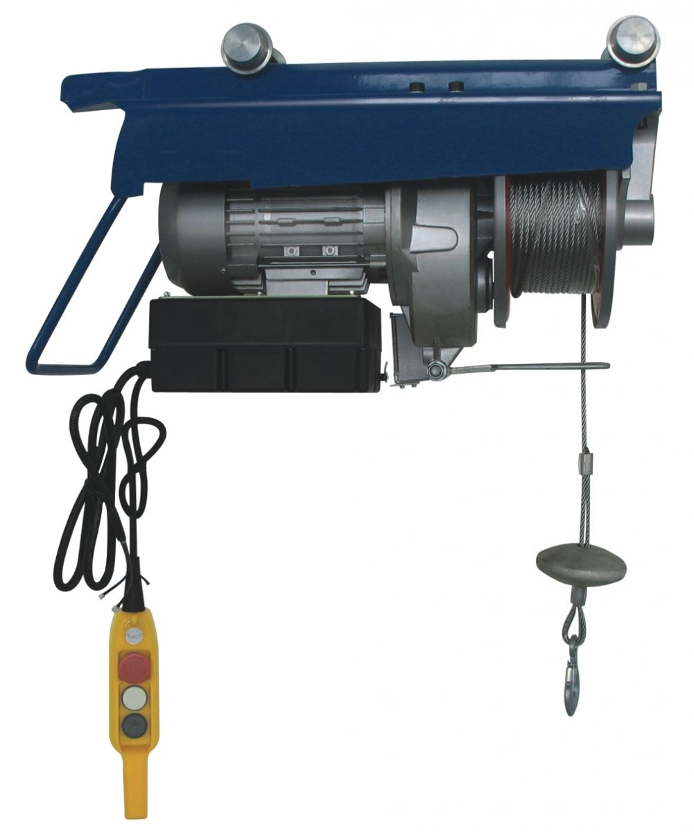 Push electric wire rope hoist
