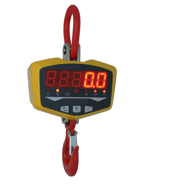 Dry battery crane scale