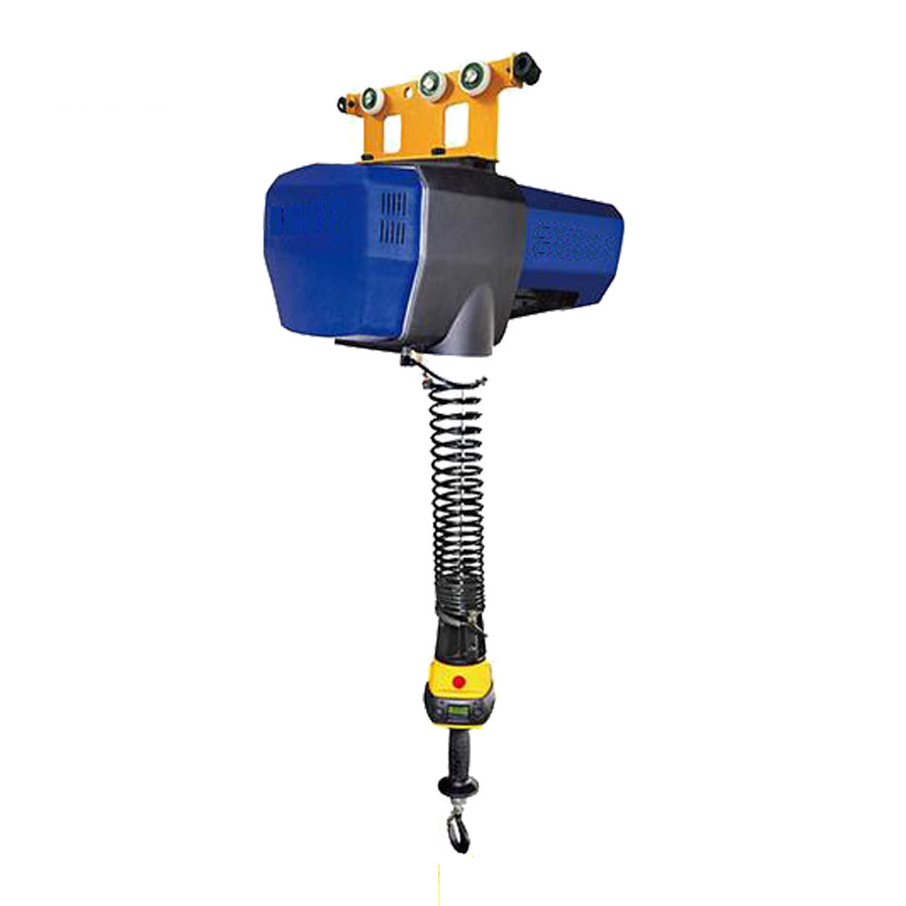 Intelligent electric wire rope hoist